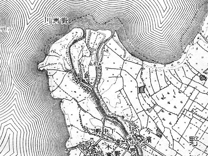 すべての講義 50000分の1 地図 : 野洲川物語・南北両流探訪